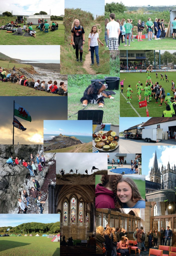 Wales-Freizeit 2018: Collage